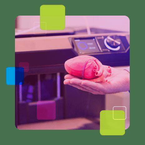A impressão 3D na medicina