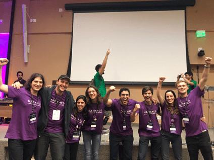 Os participantes da Hackmed Conference