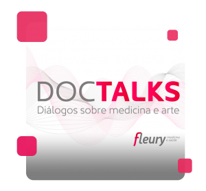 O logo do DocTalks