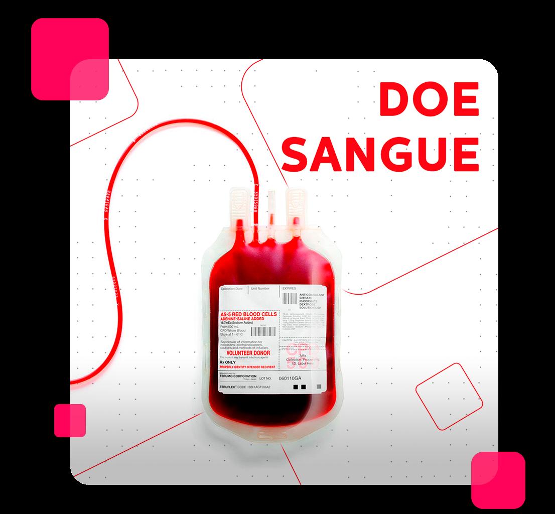 A importância da doação de sangue